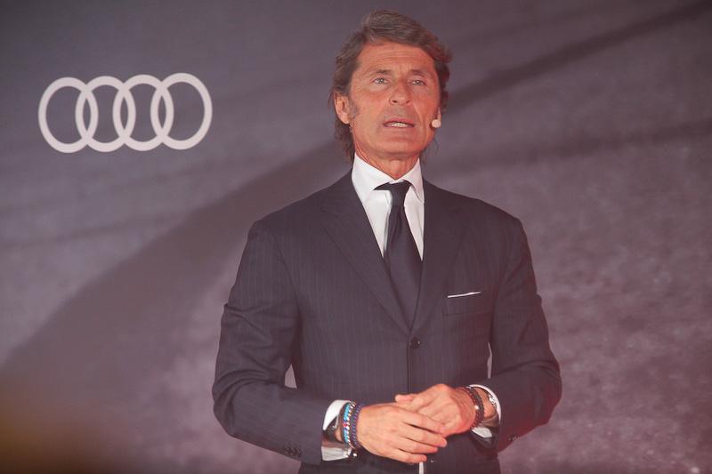 Audi Sportについての説明を行なったステファン・ヴィンケルマン氏