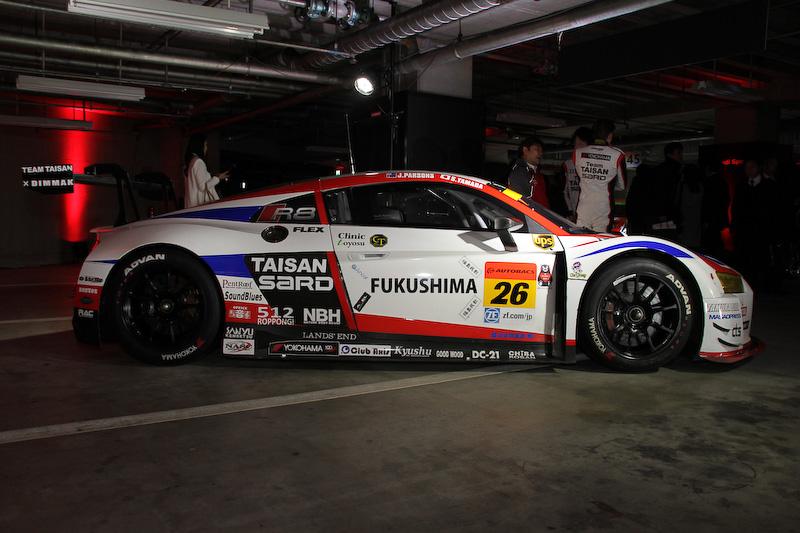 Team TAISAN SARDのR8 LMS(26号車)