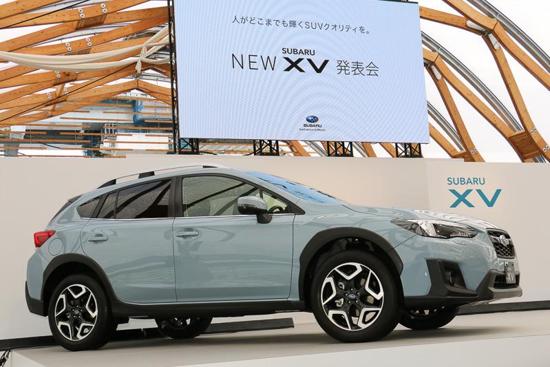 東京 豊洲の新豊洲Brillia ランニングスタジアムで新型「XV」を日本初公開