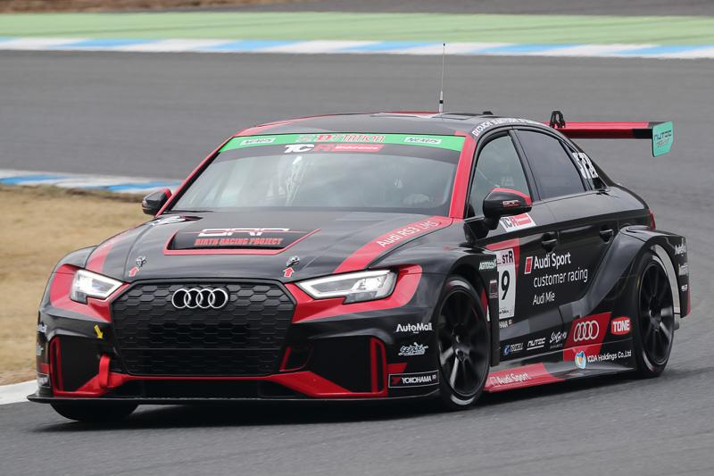 3位 No.19 BRP Audi Mie RS3 LMS(Audi RS3 LMS)奥村浩一/秋吉圭/山脇大輔