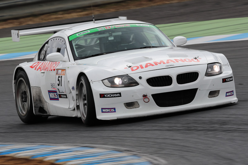 ST-1クラス1位 No.51 Diamango BMW Z4(BMW Z4 M Coupe)細川慎弥/池田大祐/石原将光