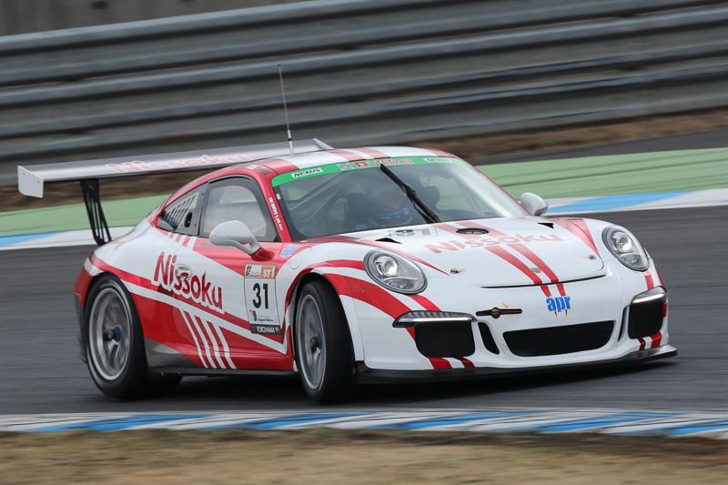 2_位 No.31 Nissoku Porsche991GT3 Cup(Porsche 991GT3 Cup)小川勝人/影山正美/富田竜一郎