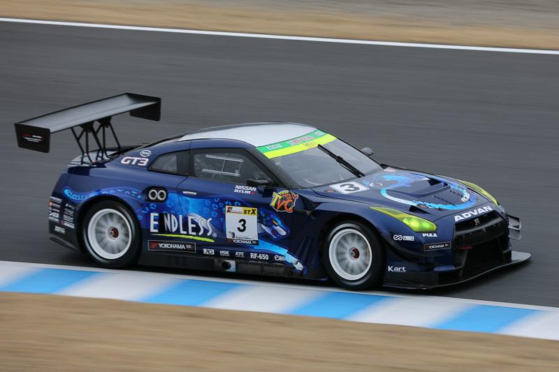 2位 No.3 ENDLESS・ADVAN・GTR(NISSAN GT-R NISMO GT3)YUKE TANIGUCHI/山内英輝/元嶋佑弥