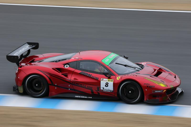 5位 No.8 ARN Ferrari 488 GT3(Ferrari 488 GT3)永井宏明/佐々木孝太