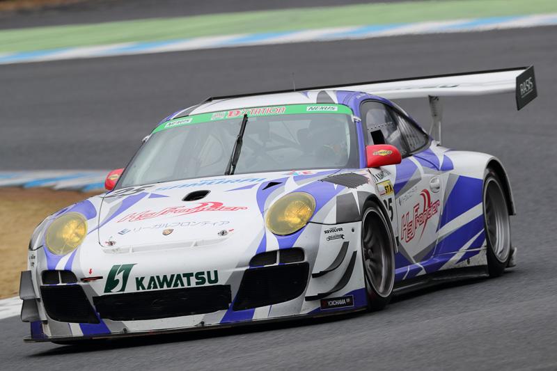 6位 No.25 ケーズフロンティア 911 GT3R(PORSCHE 911 GT3[997])Tetsuo Ogino/飯田太陽/高木真一