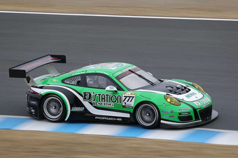No.777 D'station Porsche(PORSCHE 911 GT3[991])星野敏/荒聖治/近藤翼(※出走せず)