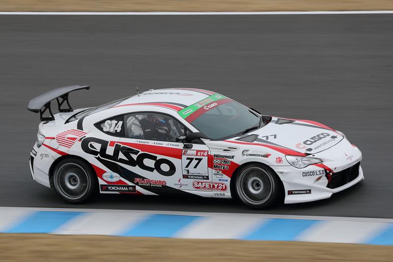 11位 No.77 CUSCO RACING 86(TOYOTA 86)山田英二/中島保典/遠藤浩二