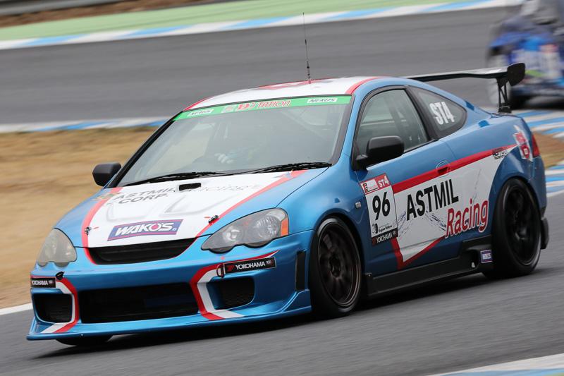 No.96 ASTMIL RacingワコーズED(HONDA INTEGRA TYPE-R)井上恵一/根本悠生