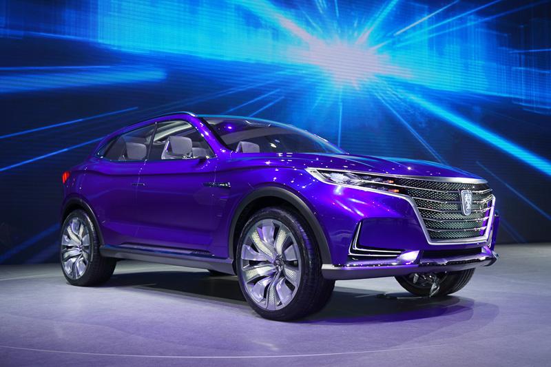 SAIC MOTOR(上海気車)が展示したROEWEブランドのSUVコンセプトカー
