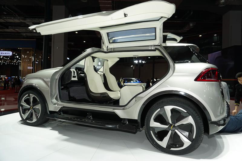 云度の展示車「X-TT」