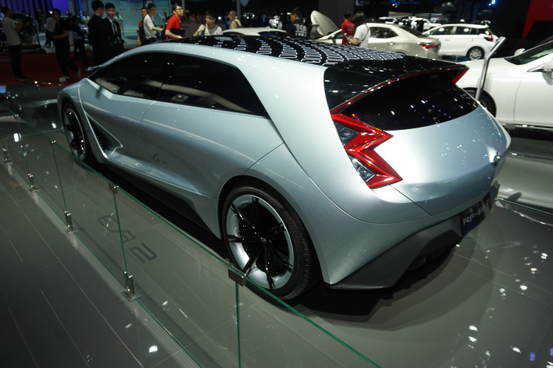 一汽トヨタの自主ブランド朗世(RANZ)のコンセプトカー