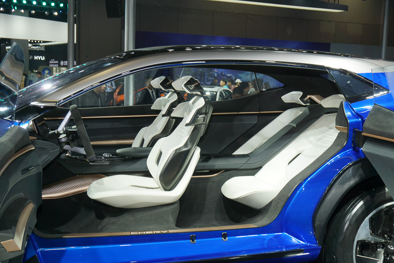 CHERY(奇瑞汽車)のコンセプトカー「TIGGO COUPE CONCEPT」