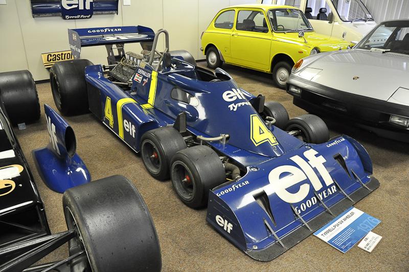 世界に数台しかない貴重なF1マシン「タイレル P34」を「第56回静岡ホビーショー」で展示