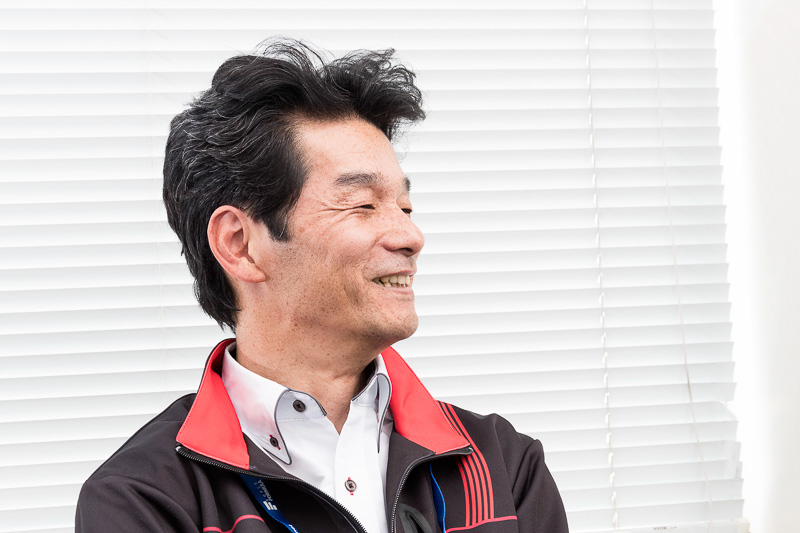 ヨコハマ・モータースポーツ・インターナショナル株式会社 第二開発部 髙口紀貴氏