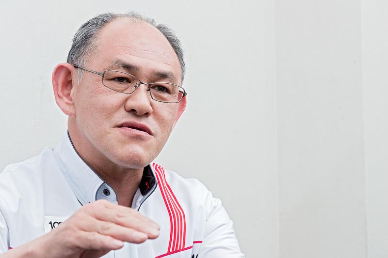 ヨコハマ・モータースポーツ・インターナショナル株式会社 開発本部 ジェネラルマネージャー 渡辺晋氏