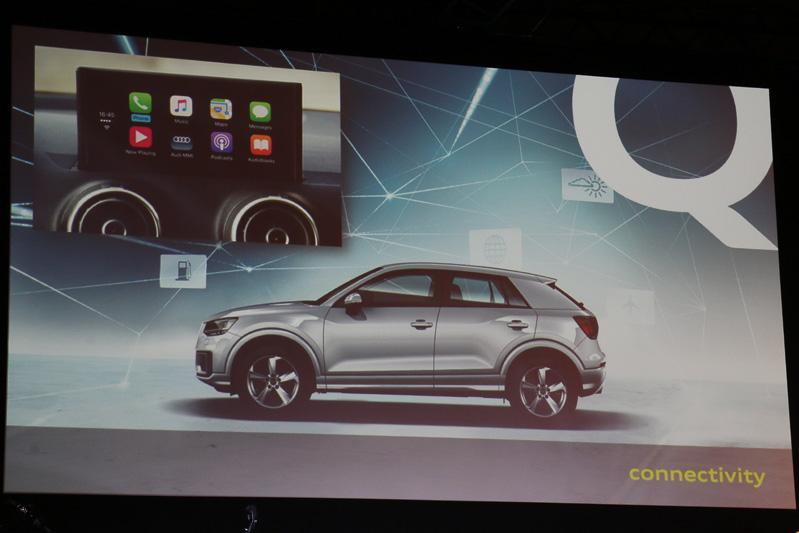 「スマートフォンインターフェイス」でAppleの「CarPlay」やGoogleの「Android Auto」に対応する