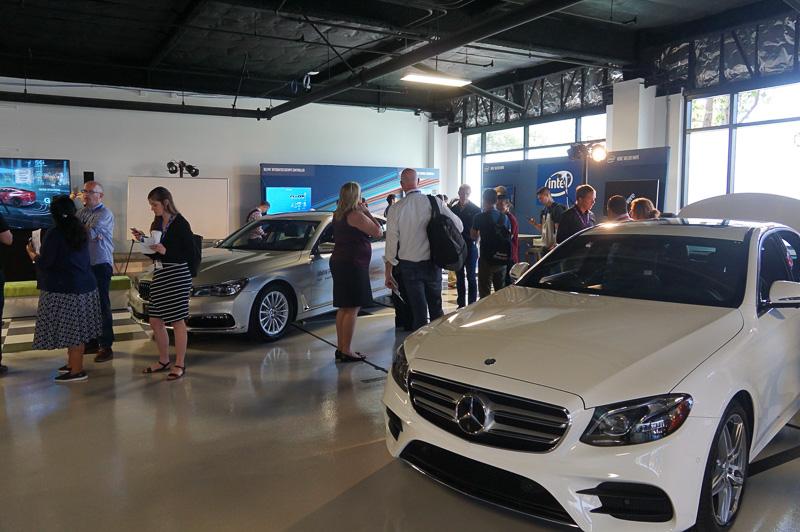 Intelがシリコンバレーに開設した自動運転車開発拠点「Autonomous Driving Lab」