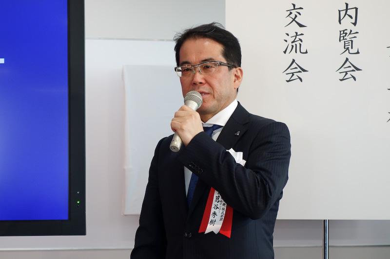 アイシン精機株式会社 台場開発センター センター長の葛谷秀樹氏