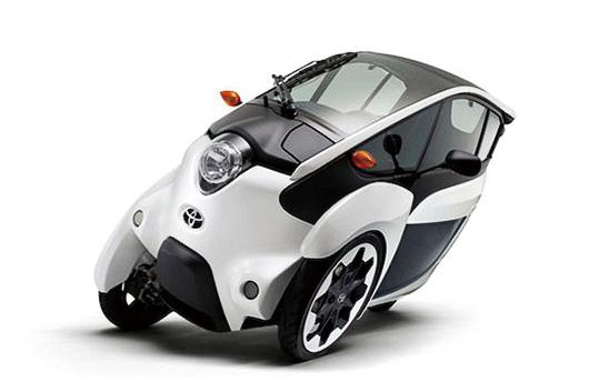 次世代モビリティ体験試乗(トヨタ i-ROAD)