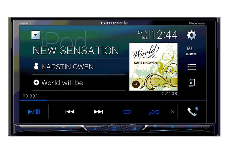 タッチパネルディスプレイ搭載で2Dメインユニットタイプのディスプレイオーディオ「FH-9300DVS」