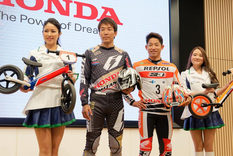 日本GPでは誰よりも小川選手のポジションを気にしているという藤波選手。レース中に上位にいる小川選手を見て「うわ、2位にいるよ!とか思っている。応援したいんですよ、でもここじゃないでしょ、と。全日本で頑張ってよと。(負けるかもしれないと)ホントにびびってます」とジョークとも本気ともつかないコメント