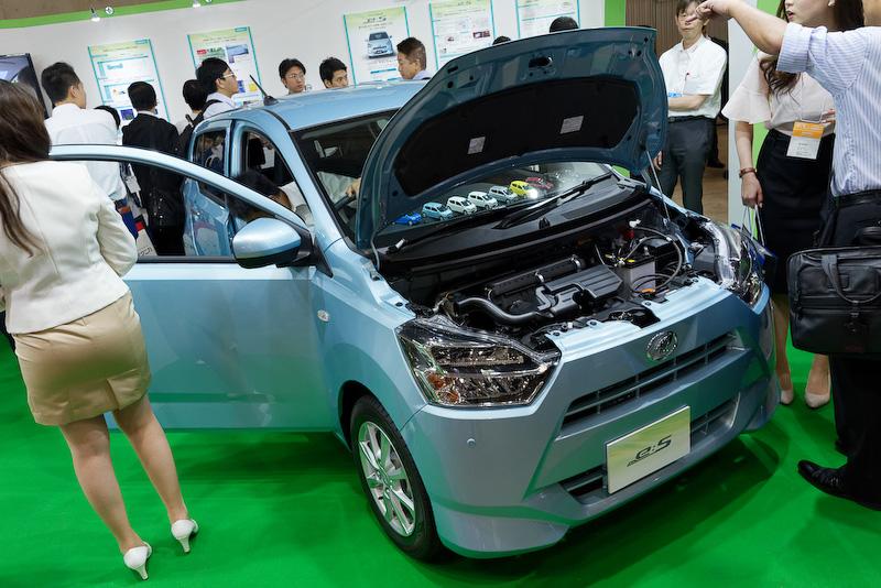 5月に登場したばかりの新型軽自動車「ミラ イース(Mira e:S)」