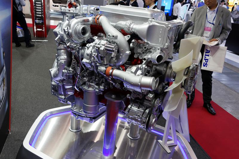 中型トラック「RANGER」の5リッターエンジン「A05C」