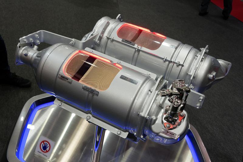 こちらはRANGER用の排出ガス低減システム
