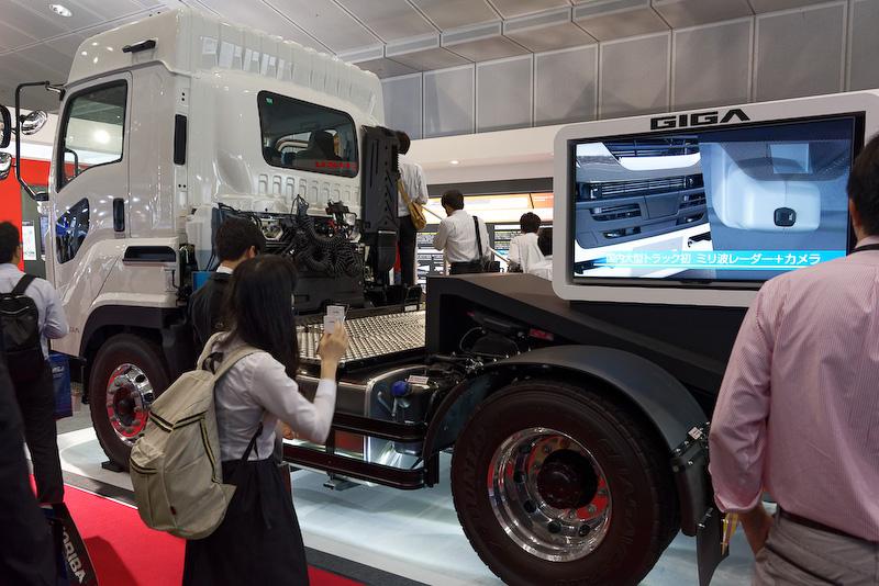 大型CNGトラック「GIGA CNG-MPI」