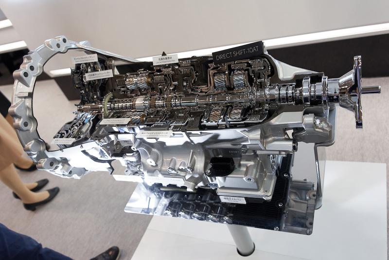 新型FR用10速オートマチックトランスミッション「Direct Shift-10AT」