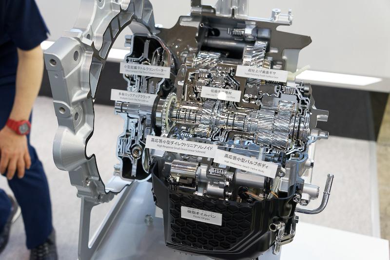 新型FF用8速オートマチックトランスミッション「Direct Shift-8AT」