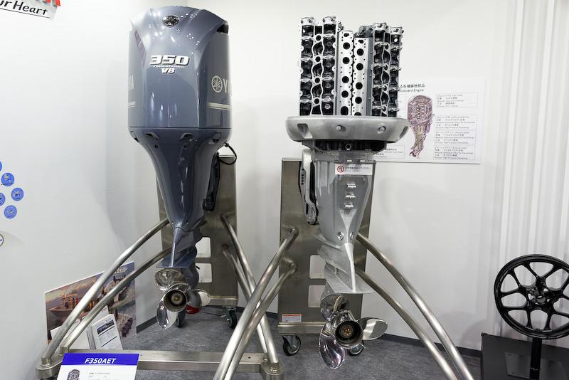 V型8気筒5330ccの船外機「F350AET」