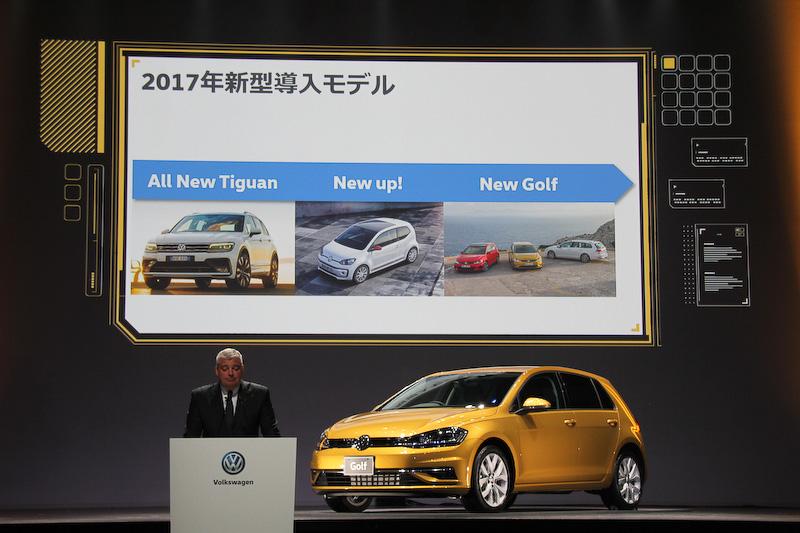 2017年に日本市場に導入したモデル