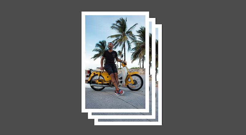 投稿のイメージ。まずスーパーカブと映った写真データを用意し、「JOIN!」ボタンから利用規約に同意して投稿する写真を選択