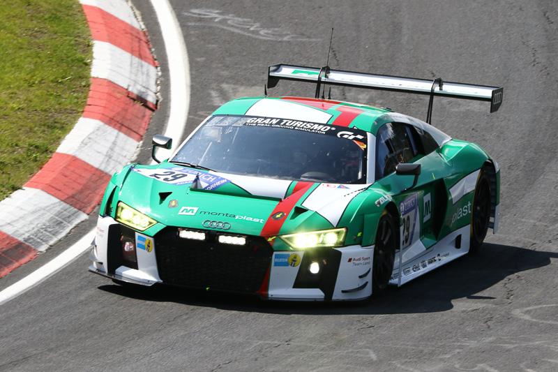 Audi Sport Team Land(29号車)のAUDI R8 LMS