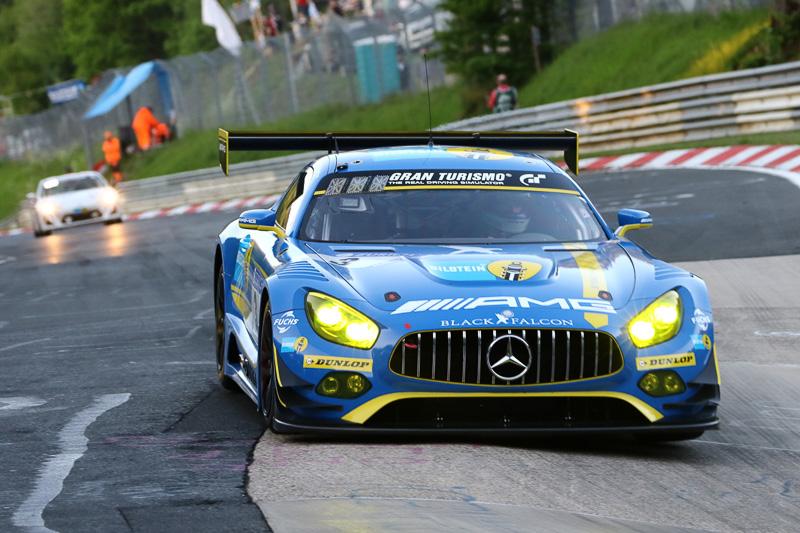 Mercedes-AMG Team Black Falcon(3号車)のMercedes-AMG GT3