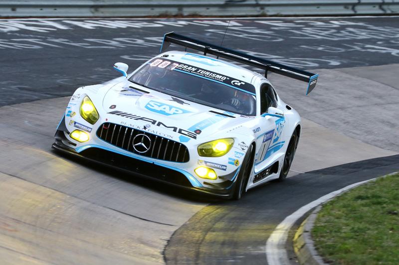 Mercedes-AMG Team Black Falcon(1号車)のMercedes-AMG GT3