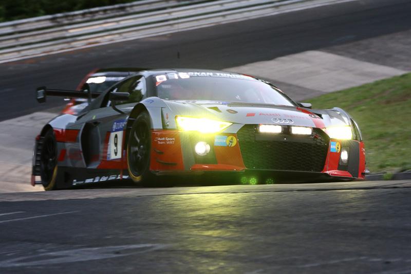 Audi Sport Team WRT(9号車)のAUDI R8 LMS