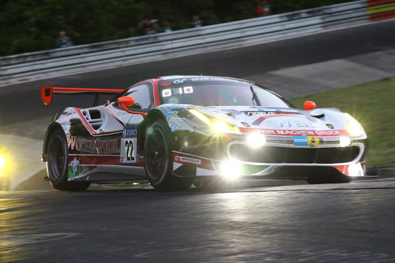 Wochenspiegel Team Monschau(22号車)のFerrari 488 GT3