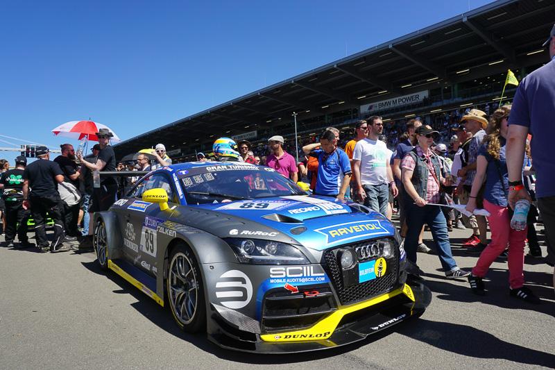 SP 3Tクラスのトップ、LMS Engineeringの89号車「Audi TTRS2」
