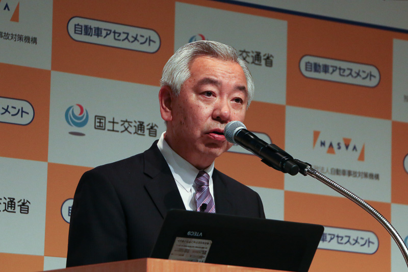 独立行政法人自動車事故対策機構 理事長 濱隆司氏