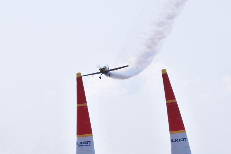 強風と高波のため延期されていた、16時からのテストフライトも1機が飛行しただけで終了