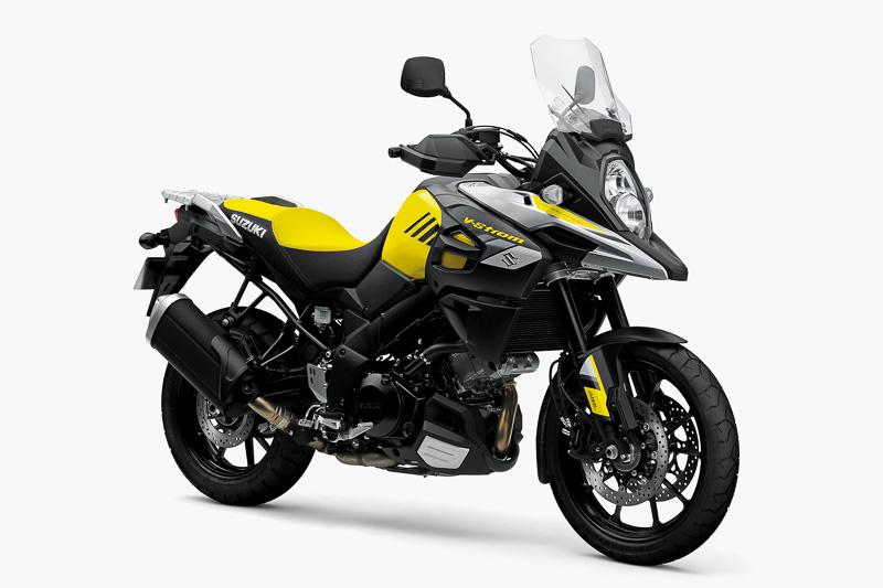 「V-Strom 1000 ABS」のチャンピオンイエローNo.2