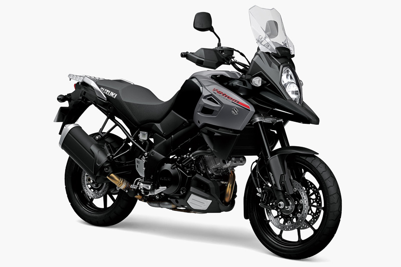 V-Strom 1000 ABSのグラススパークルブラック
