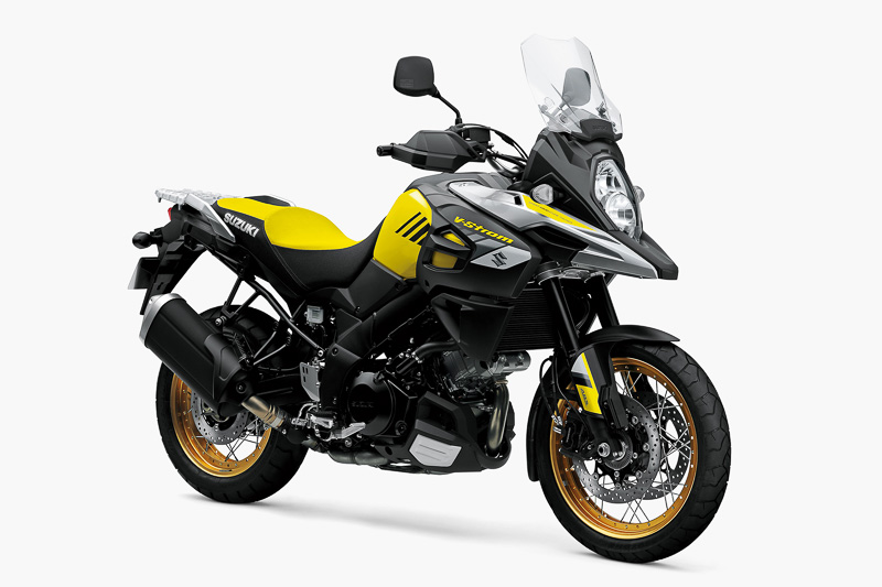 「V-Strom 1000XT ABS」のチャンピオンイエローNo.2
