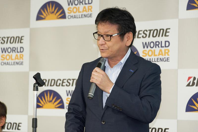 東レ株式会社 産業材料事業部長 奥村勇吾氏