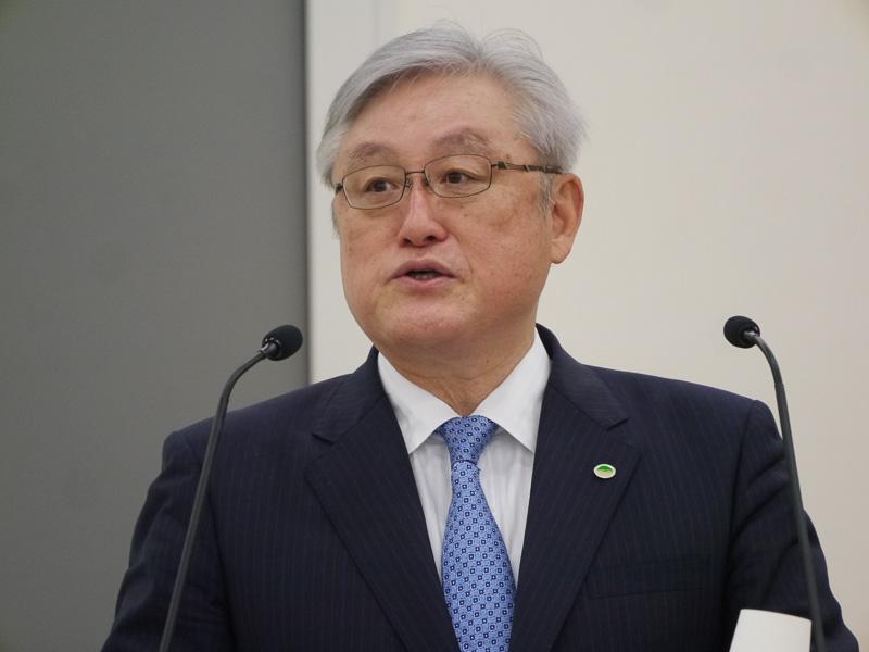 株式会社日立製作所の東原敏昭執行役社長兼CEO
