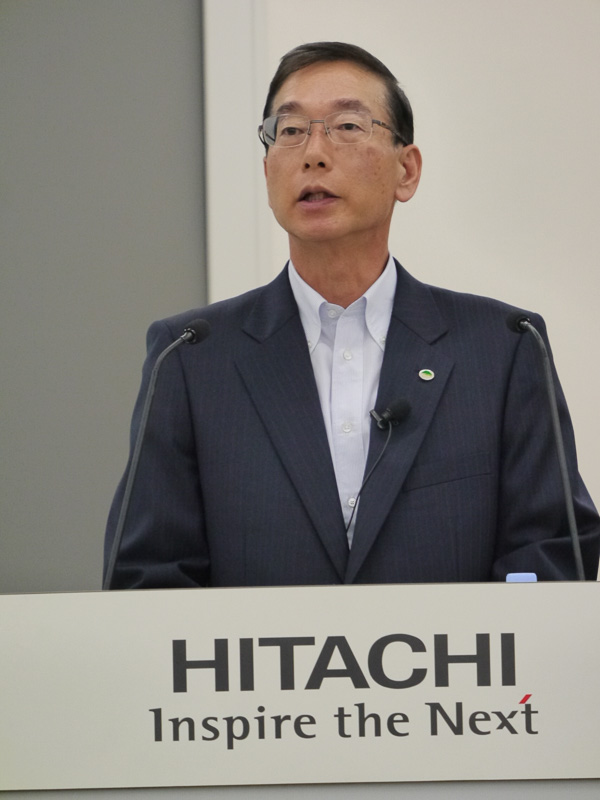 日立オートモティブシステムズ株式会社 社長執行役員&CEOの関秀明氏