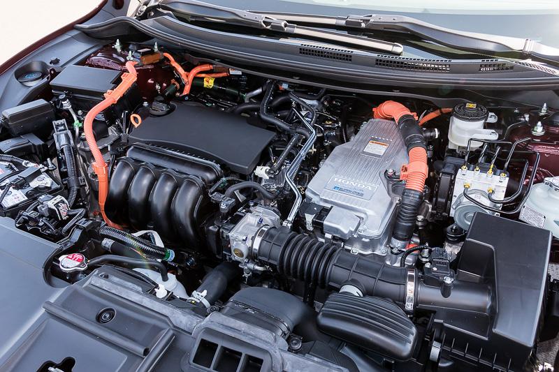 1.5リッターアトキンソンサイクルエンジンとi-MMD 2モーターハイブリッドシステムを搭載