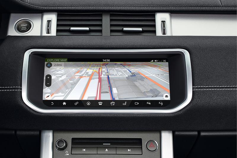 直感的なタッチ操作を可能にするインフォテインメント・システム「InControl Touch Pro」